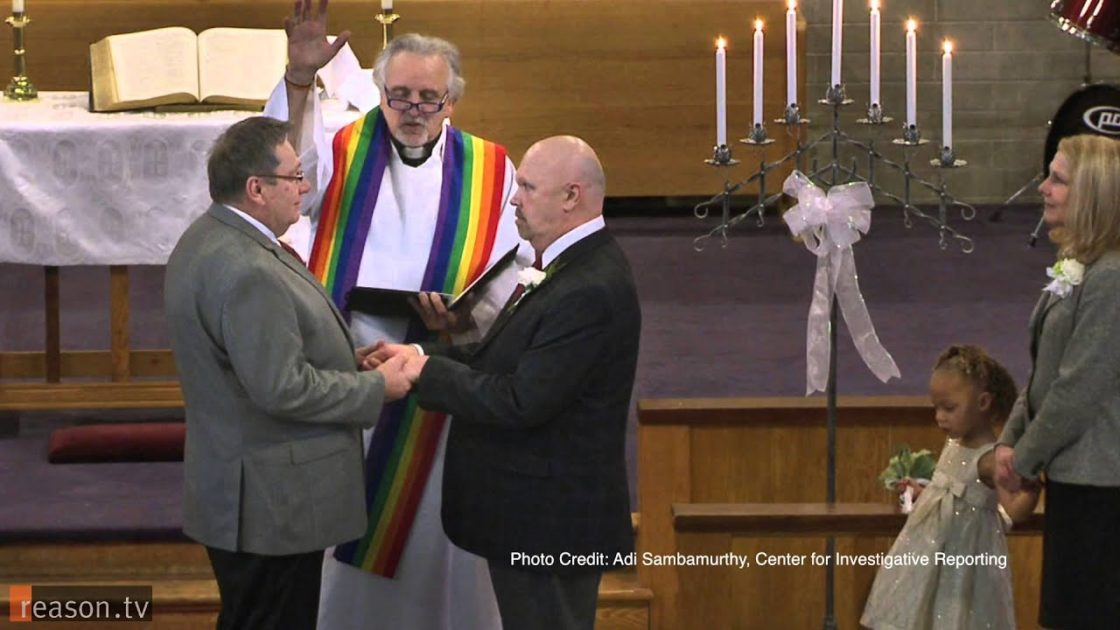 United Methodist Church plans to split up over gay marriage and gay clergy.