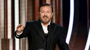 Ricky Gervais Makes a Statement as Golden Globes Host