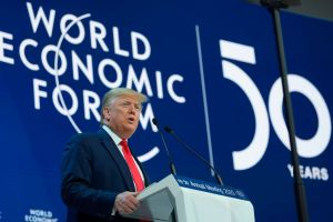 Trump in Davos: 'We must reject the perennial prophets of doom and their predictions of the apocalypse.'