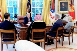 Deputy Defense Minister Khalid bin Salman quietly met with Trump administration