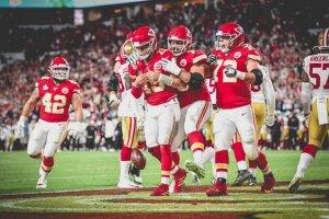 Kansas City Chiefs win the Super Bowl