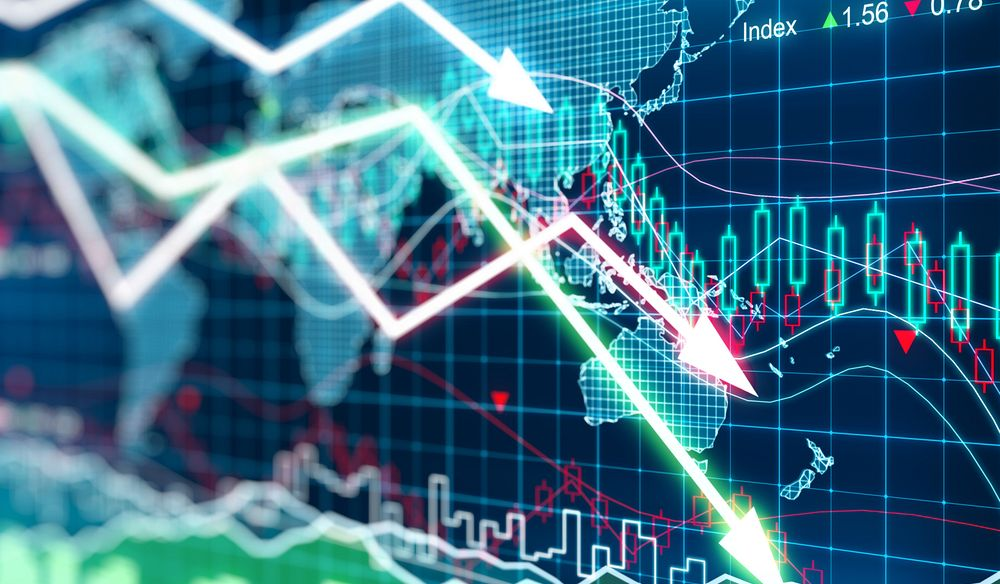 Stock market halts the moment it opened, DOW down 2,250 points,