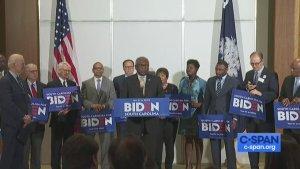 House Majority Whip Rep. Jim Clyburn endorses VP Joe Biden