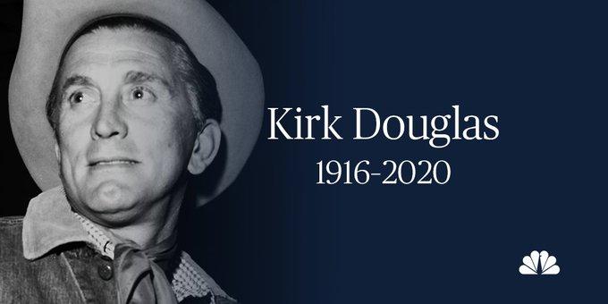 Actor Kirk Douglas Dies at 103