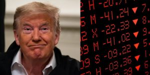 Stocks finish the day in the toilet; almost ends an 11-year bull market