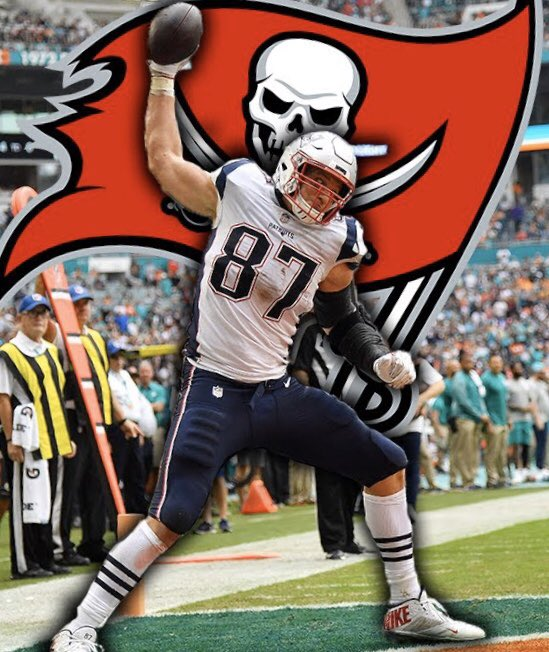 TE Rob Gronkowski agrees to play for the Buccaneers, reunites with Tom Brady