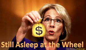 DeVos Once Again Ignores the Law; Continues to Garnish Wages of Student Borrowers