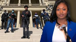 Armed Black Citizens Escort Michigan Lawmaker to Capitol