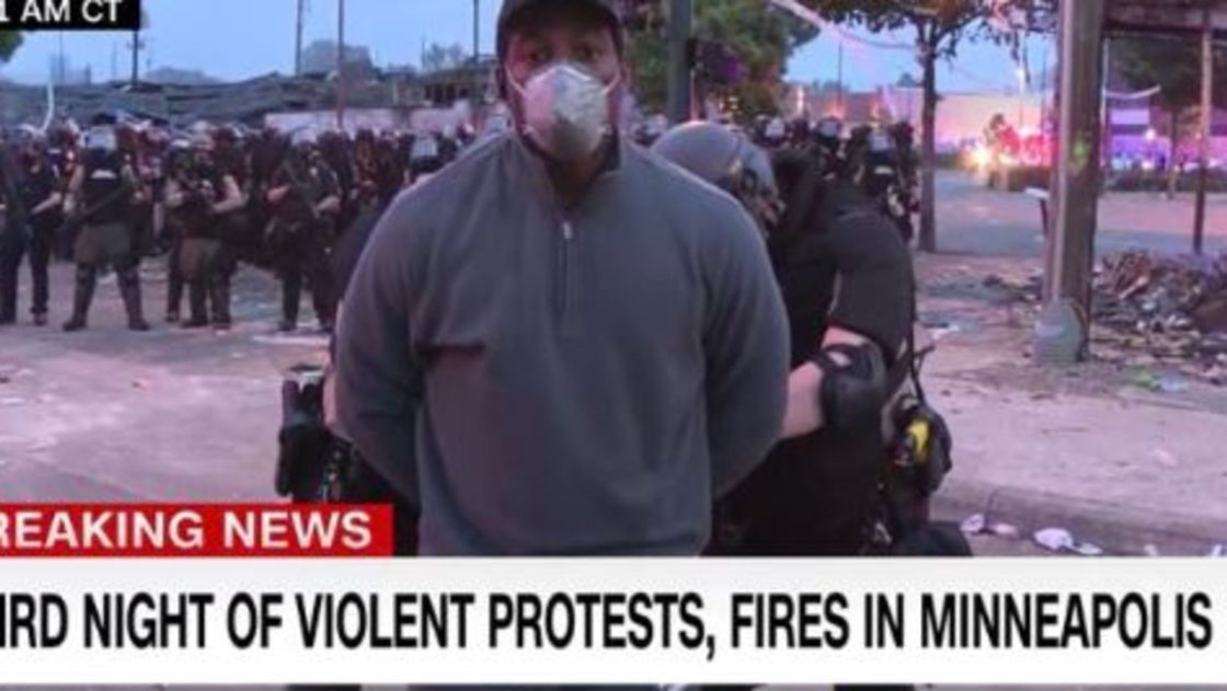 CNN Crew Arrested on Live Television