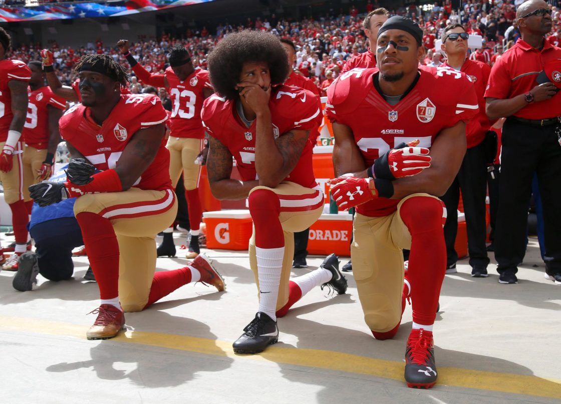 Trump Questions Goodell's Statement on Supporting Peaceful Protests