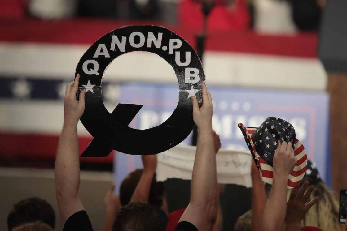 QAnon marches toward the halls of Congress