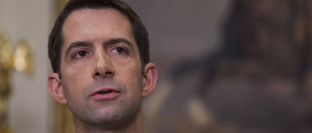 GOP Sen. Tom Cotton claims the 101st Airborne could be called to quell 'domestic terrorism' at Black Lives Matter protests
