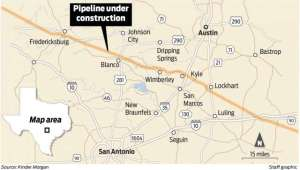 Houston Natural Gas Company Sued for Poisoning Water Supply in Central Texas