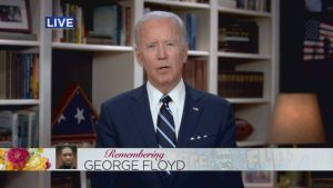 Biden Addresses George Floyd's 6-year-old Daughter at Funeral