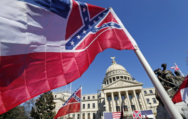Mississippi finally votes to retire its disgusting flag