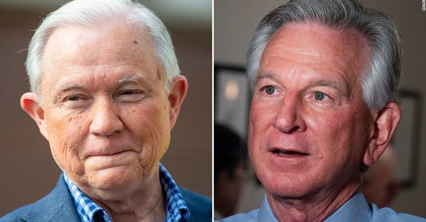 MAGAt Tommy Tuberville defeats Sessions in Alabama primary