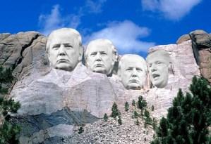 Coronafest 3.0: Trump and Melanie pollute Mt. Rushmore