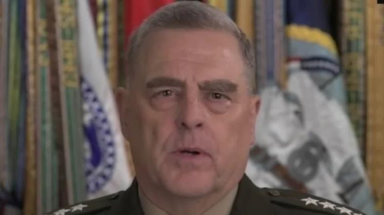 General Milley tells Congress the military won't play a role in the 2020 election
