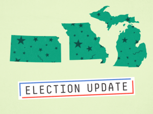 What You Need To Know About Today's Elections In Kansas, Michigan, And Missouri