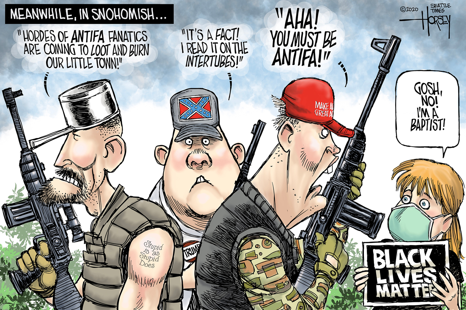 Oregon Officials Warn False Antifa Rumors Waste Precious Resources Needed to Fight Fires