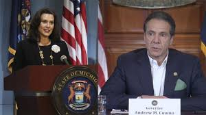 Cuomo and Whitmer Call for Congressional Inquiry Into Trump Coronavirus Response