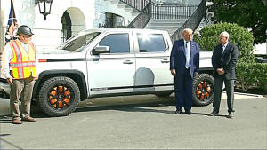 "Trump meets with Lordstown Motors of Ohio: ""The area is absolutely booming now."" It's not-"