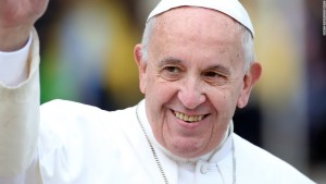 Pope endorses civil union laws for same-sex couples