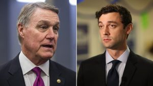 Democratic challenger Jon Ossoff to Senator Perdue: 'It's not just that you're a crook, Senator'