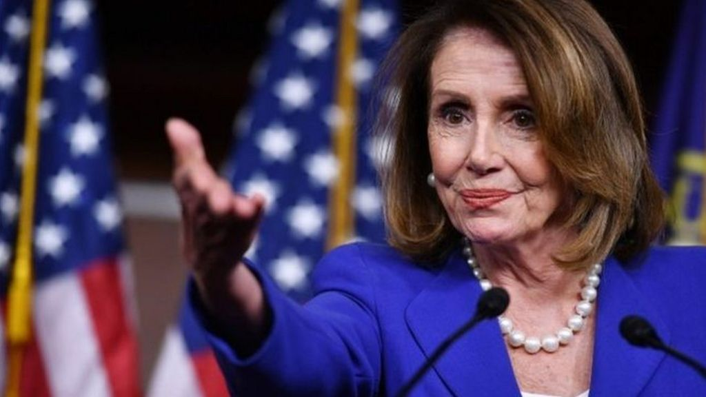Speaker Pelosi Holds Briefing After Right Wing Terrorists Stormed Capitol