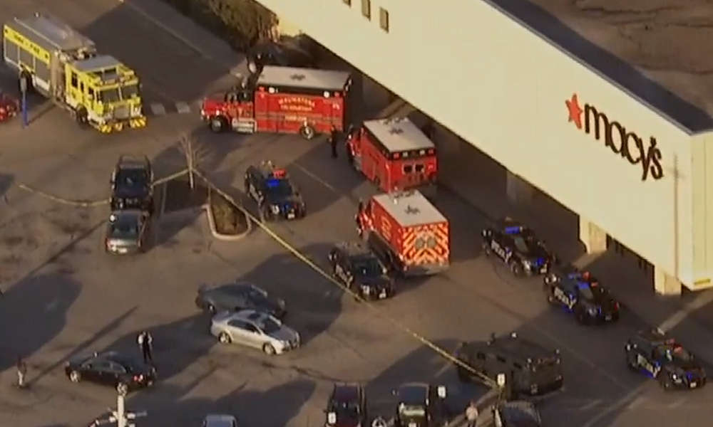 Mass Shooter Incident at Mayfair Mall, Wauwatosa Wisconsin