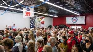 Trump's the center of a Republican feud in Georgia recount