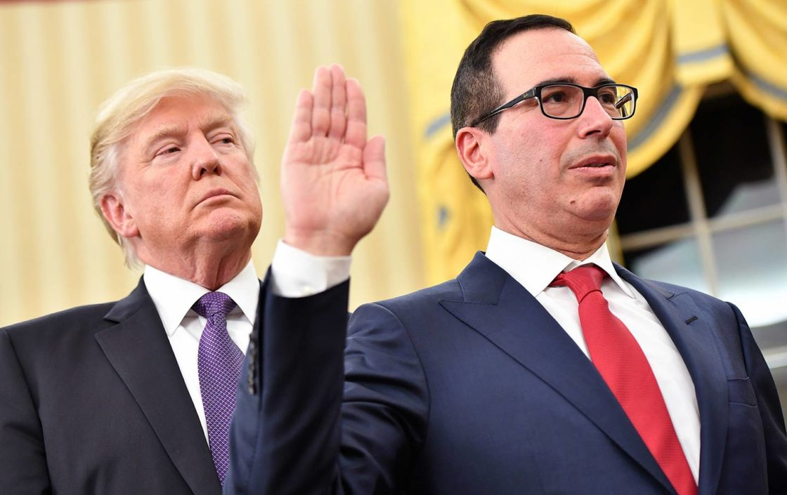 Mnuchin makes things difficult for the incoming Biden administration
