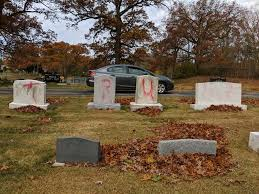 Jewish Cemetery Vandalized With Pro-Trump Spray Paint