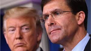 Trump Says Mark Esper is Out as Defense Secretary