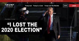 Trump gets punked; comedians snag the Trump 2024 domain