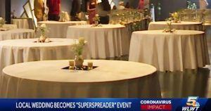 Ohio COVIDIOTS hold a Super Spreader wedding; nearly half of the guests get sick with the 'rona