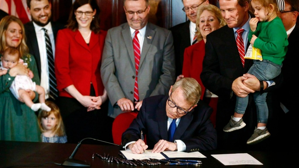 Ohio Governor Signs Bill Requiring Women to Choose Burial or Cremation of Aborted Fetal Tissue