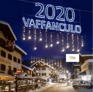PSA: Happy New Year! Vaffanculo, 2020!