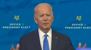 Biden's Remarks on COVID-19 and Cyber-Security Before the Holiday