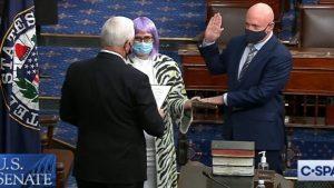 Captain Mark Kelly is Sworn in to U.S. Senate