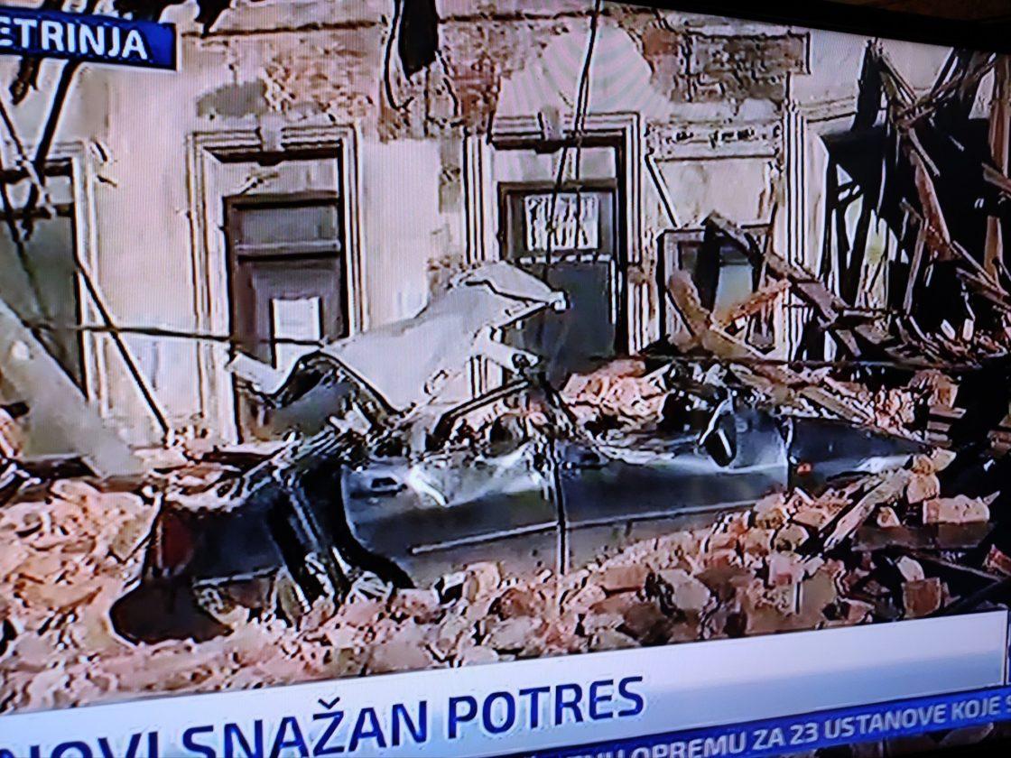 6.4 Magnitude Earthquake Strikes Central Croatia