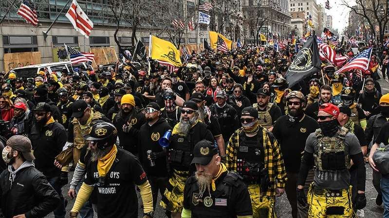 Proud Boys to attend Jan. 6 DC rallies 'incognito'