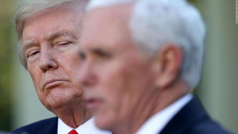 Source says; Trump pressured Pence to engineer a coup, then put the VP in danger when the riots broke out
