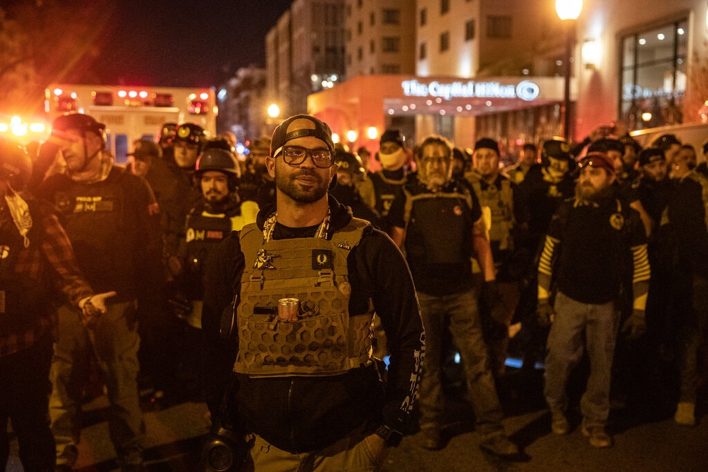 The Proud Boys turn on Trump: 'A Total Failure' and 'Weak'