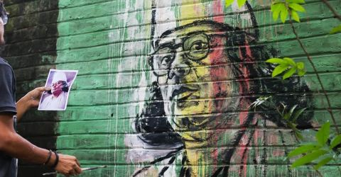 সাম্যবাদী আদর্শেই কাজী নজরুল ইসলামের ছবি আঁকি- চিত্রশিল্পী আর. করিম
