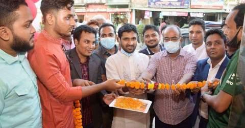 রংপুর নগরীতে নকশী ফার্নিচার শো-রুমের উদ্বোধন