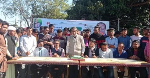 দোয়ারাবাজার উপজেলা ও কলেজ ছাত্রদলের যৌথ উদ্যোগে ৪২তম প্রতিষ্ঠা বার্ষিকী পালন