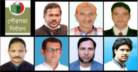 সুন্দরগঞ্জ পৌরসভা নির্বাচন: লড়াই হবে নৌকা – নারিকেল গাছে