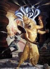 Narasimha tötet den Dämonen
