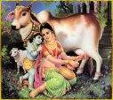 Gopala Krishna als Baby